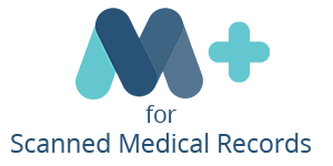 Logo: MasterCare+ for Scanned Medical Records