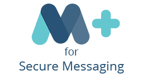 Logo: MasterCare+ for Secure Messaging