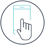 Icon: Phone with Hand