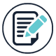 Icon: Document and Pen